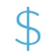 Recruiting Cost Savings Icon